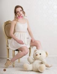 """Mie Hansen skudt til Cynical Fashions """"Doll house""""-udgave. Cirkeline Coco Singh har lagt makeup"""