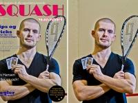 Gus Hansen. Coveret af Squash Magasinet 2. udgave